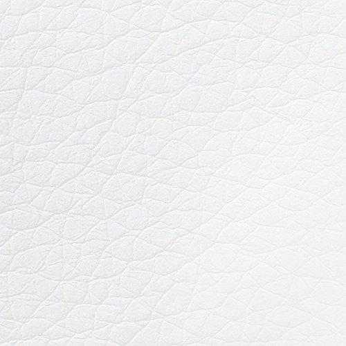 Boxspringbett Clarissa 140×200 Kunstleder Weiß kaufen  Bild 1*
