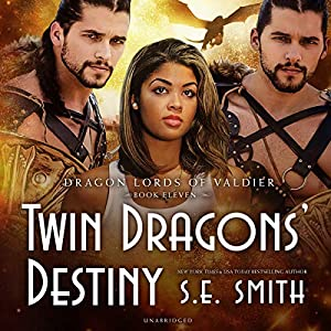Twin Dragons' Destiny: The Dragon Lords of Valdier Series, Book 11