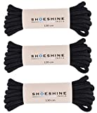 Shoeshine India Round Shoe Laces (Thick approx 3mm) many color combo available