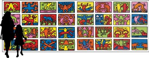 Ravensburger-17838-Keith-Haring-Double-Retrospect-32000-Teile-Puzzle-544x192cm-grtes-Puzzle-der-Welt