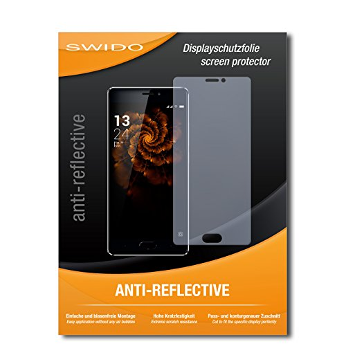 SWIDO Bildschirmschutz für Allview X3 Soul Pro [4 Stück] Anti-Reflex MATT Entspiegelnd, Hoher Härtegrad, Schutz vor Kratzer/Glasfolie, Schutzfolie, Bildschirmschutzfolie, Panzerglas Folie