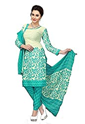 Sky Global Women's Printed Unstitched Regular Wear Dress Material (SKY_540_Blue)
