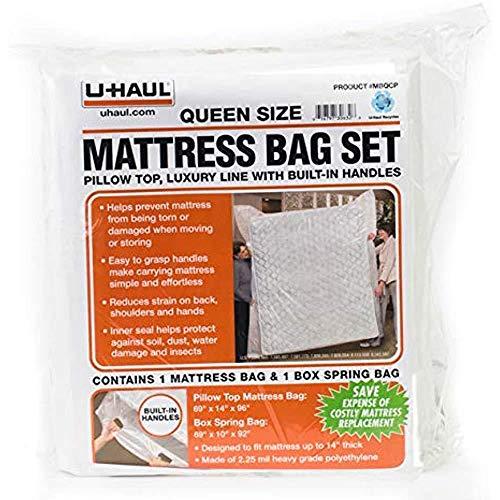 UHaul Queen Matratze Tasche Set mit integrierten Griffen