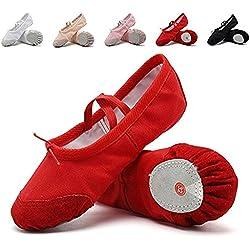 Ballet Zapatillas de Ballet de Danza Baile Para Niña