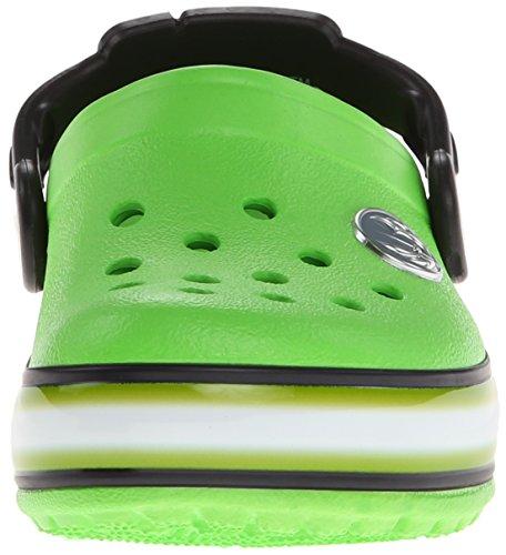 Crocs Crocslights Star War, Sabot Bambino Verde (Neon Green/Black)