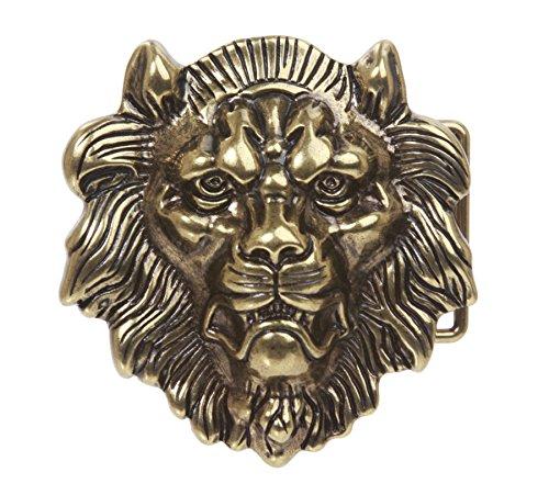 beltiscool Belt buckle - for men Brown Brass One size