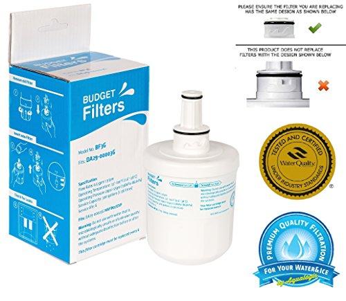 Budget-filter (BF3G kompatibel mit Samsung Aqua Pure Plus hafin2exp DA29–00003G hafcu1X AA (in blau, nicht grün,) Kühlschrank Filter)