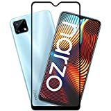 KC PRODUCTS 6D/11D HD Crystal Clear Full Glue Edge to Edge Tempered Glass Screen Protector Compatible with REALME NARZO 20/20A/NARZO 10/10A with Free Easy Installation kit