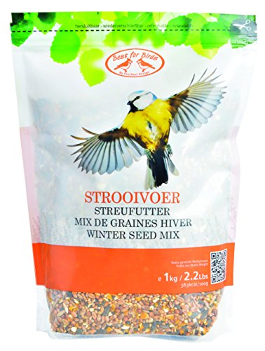 Best For Birds Mix de graines pour Oiseaux Hiver - 1 Sac de 1kg