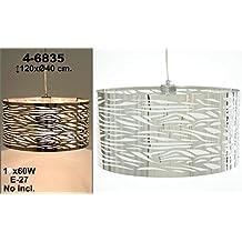 DonRegaloWeb - Lámpara de techo de acero cromado de estilo moderno redonda