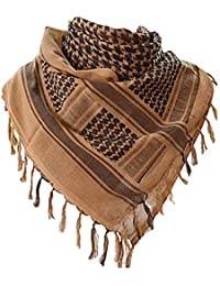 Military Shemagh Tactical Desert 100% Cotton Keffiyeh Mens Scarf Wrap