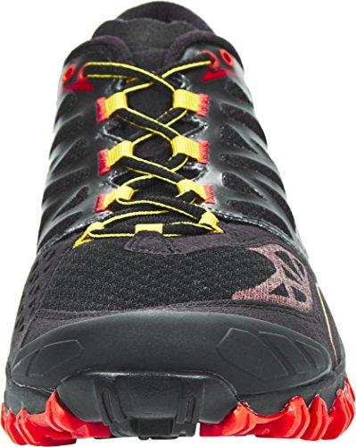 La Sportiva , Chaussures de course pour homme noir Noir/jaune