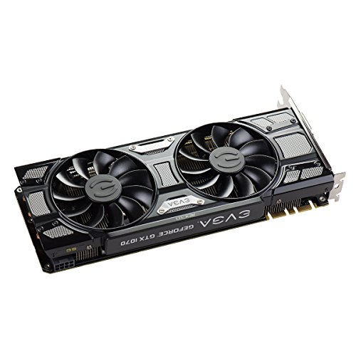 EVGA 08 G-P4–5173-kr GeForce GTX 1070 Superclocked ACX 7 - 6