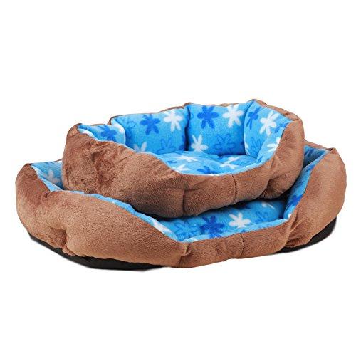 CHONGWUCX Sehr weichem Plüsch, rosa, blau oktogonalen Nest, s