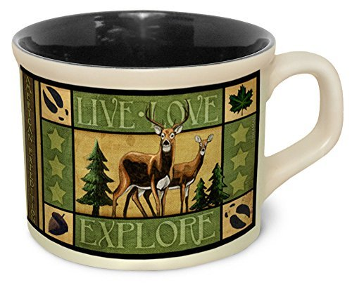 American Expedition Lodge Series Soup Mug DEER by American Expedition