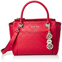Guess Satchel Bag for Women- Red