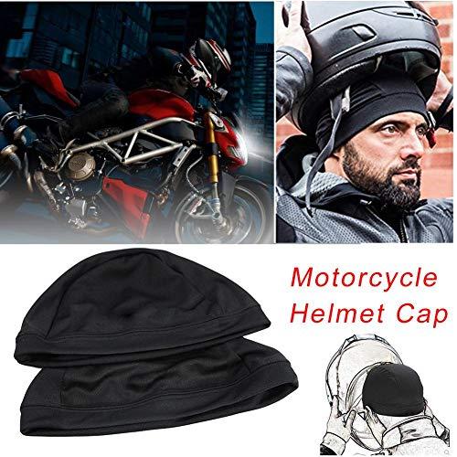 Sweat Wicking Cooling Helmet Liner - Cappellino Interno Casco Moto Quick Dry Berretto Traspirante sotto Casco Beanie cap Bicicletta Racing cap per Casco, Unisex