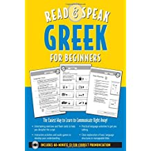 Read & Speak Greek for Beginners: The Easiest Way to Learn to Communicate Right Away! [With Cut-Out Games Cards and 60 Minute CD for Correct Pronuncia