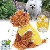 ShopSquare64 Pet T-shirt Dog Vest Coat Breathable Sunscreen Cooling Clothing Jacket Clothes