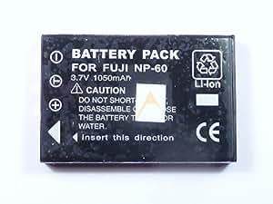 Batterie pour Fuji NP-60 | Kodak KLIC-5000 | Pentax D-Li 2 | Casio NP-30 | HP 1812 | Rollei 02491-0017-00 | Olympus Li-20B | Panasonic VW-VBA10 VBA20 CGA-S301 S302 | Ricoh DB-40 | Samsung SLB-1037 1137