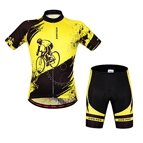 ParaCity Mountainbike Fahrrad Bekleidung kurzärmelig Anzug M