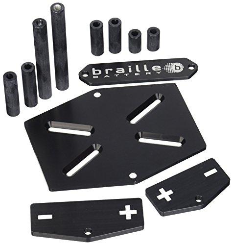 Braille Battery 211 Aluminum Battery Mount Kit Braille Batterie