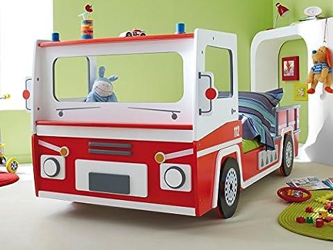 Feuerwehrbett Spielbett Jugendbett Kinderbett Autobett Bett Kindermöbel