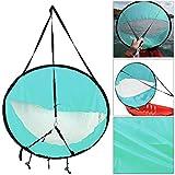 Demiawaking Windsegel für Kajak, Boot, Paddelboot mit Fenster, 106,7 cm