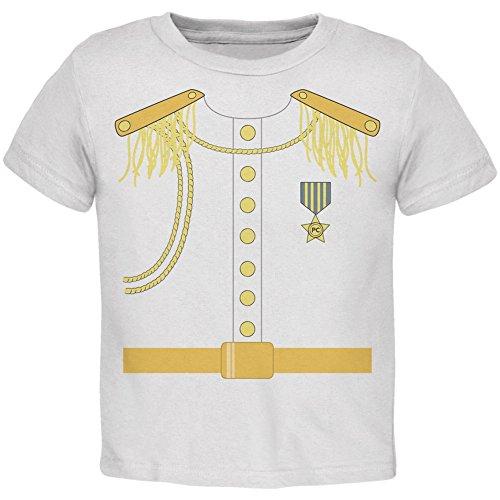 Prince Charming Kostüm weiß Kleinkind T-Shirt-4 t (Prince Charming Kind Kostüme)