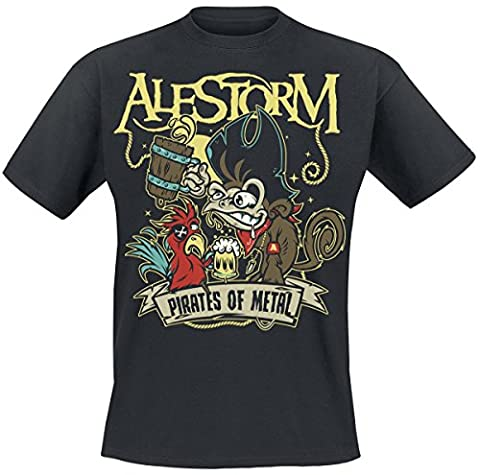 Alestorm Pirates Of Metal T-shirt noir M