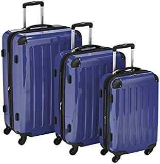HAUPTSTADTKOFFER - Alex - Set of 3 Hard-side Luggages Trolley Suitces Expandable, (S, M & L), dark blue (B00XJJ64S6) | Amazon price tracker / tracking, Amazon price history charts, Amazon price watches, Amazon price drop alerts