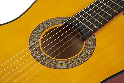 Music Alley MA-34-N - Chitarra per bambini, colore: naturale