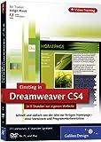 Adobe Dreamweaver CS4 - Der praktische Einstieg. Das Video-Training auf DVD