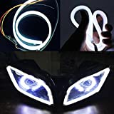 #10: Generic (unbranded) Daytime Running Light Strip for Bikes (White, 1 piece)