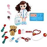 WEISHAZI - Muñeca eléctrica para niños y niñas que hablan,...