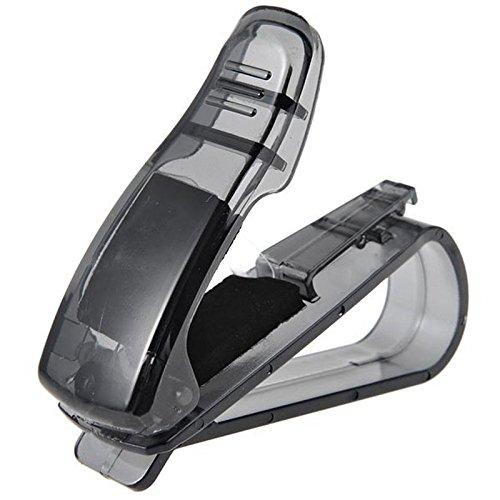 AmyGline Auto Auto Brillenhalter Sonnenbrille Fall Sonnenblende Clip für Autos, Ticket Empfang CardClip Storage Holder