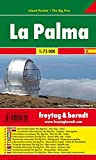 Freytag Berndt Autokarten, La Palma, Island Pocket + The Big Five, wasserfest - Maßstab 1:75 000 - Freytag-Berndt und Artaria KG
