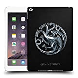 Head Case Designs Offizielle HBO Game of Thrones Silber Targaryen Embossed Sigils Ruckseite Hülle für iPad Air 2 (2014)