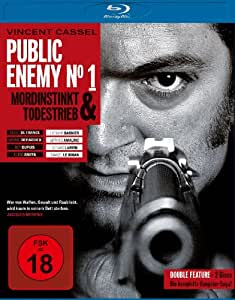 Public Enemy No. 1 - Mordinstinkt/Todestrieb [Blu-ray]