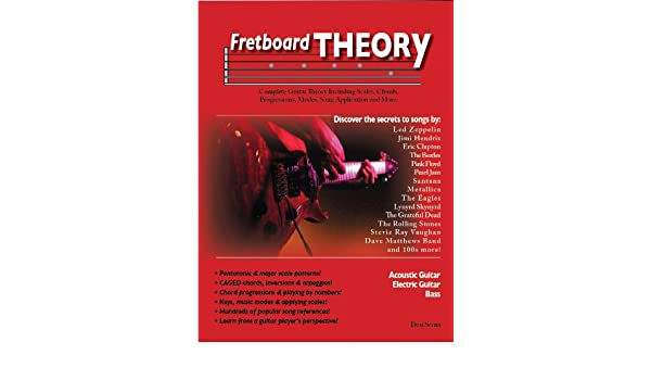 Fretboard Theory Complete Guitar Theory Including Scales Chords