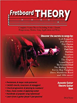 Fretboard Theory: Complete Guitar Theory Including Scales, Chords, Progressions, Modes, Song Application and More. (English Edition) par [Serna, Desi]