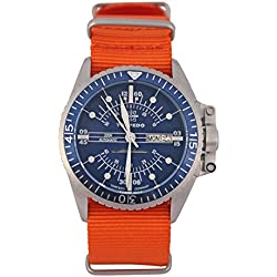"""'Torpedo """"Gate 1Time Under Automatic Mens Watch TP 1.4. Nat"""