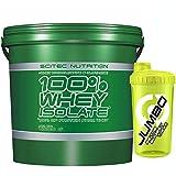 Scitec Nutrition 100% Whey Isolate 4 kg Proteine del Siero del Latte Isolate e Idrolizzate + Shaker Nutriline in Omaggio (VANIGLIA)