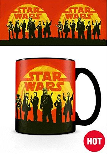 Star Wars SCMG24955 Tasse Hitze Farbwechsel, Mehrfarbig