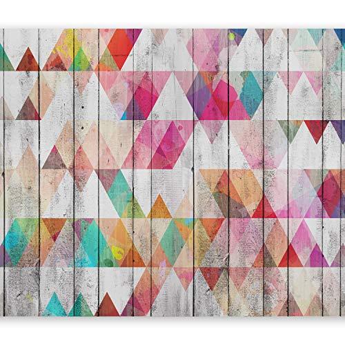 murando - Fotomurali adesivi Geometrico 245x175 cm - carta da parati audoadesiva - carta da parati moderna - fotomurale - carte da parati -Triangolo f-B-0144-a-a