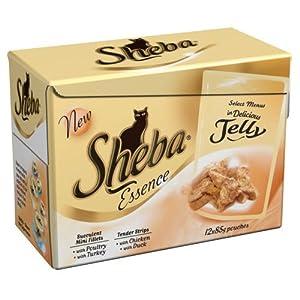 Sheba Select Menu Cat Food (12x85g Pouch)