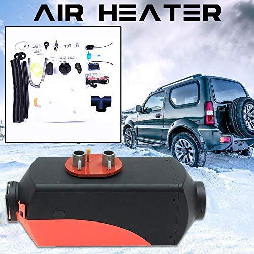 Ksruee 5KW 12V Diesel Luftheizung 10L Tank Fernbedienung Fahrzeugheizung Diesel Lufterhitzer LCD Monitor Thermostat Air Standheizung Auto Heizung mit Fernbedienung
