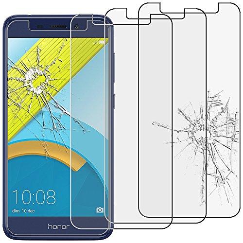 ebestStar - Huawei Honor 6C Pro Panzerglas x3 Schutzfolie Glas, Schutzglas Bildschirmschutz, Bildschirmschutzfolie 9H gehärtes Glas [Phone: 147.9 x 73.2 x 7.7mm, 5.2'']