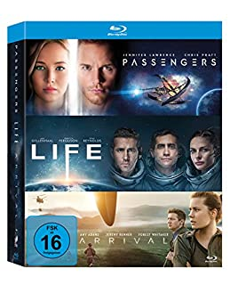 Arrival / Life / Passengers (exklusiv bei Amazon.de) [Blu-ray]