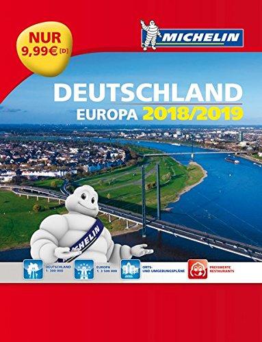 Michelin Straßenatlas Deutschland & Europa 2019/2020 (MICHELIN Atlanten)